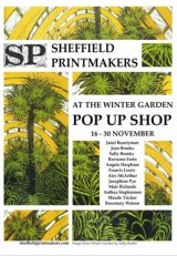 Poster for Pop Up Shop November 2018 I am exhibiting the second week