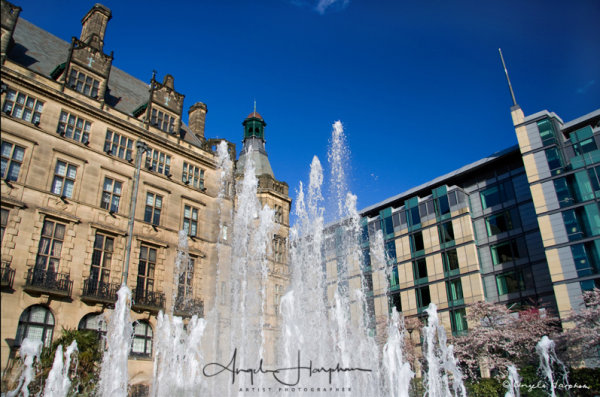 Sheffield Peace Gardens