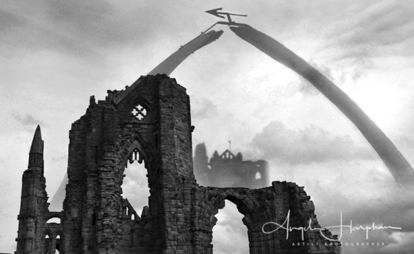 Whitby Gothic Abbey Photograph 1
