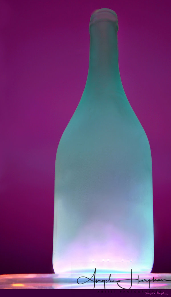 Opaque Glass Bottle Jade