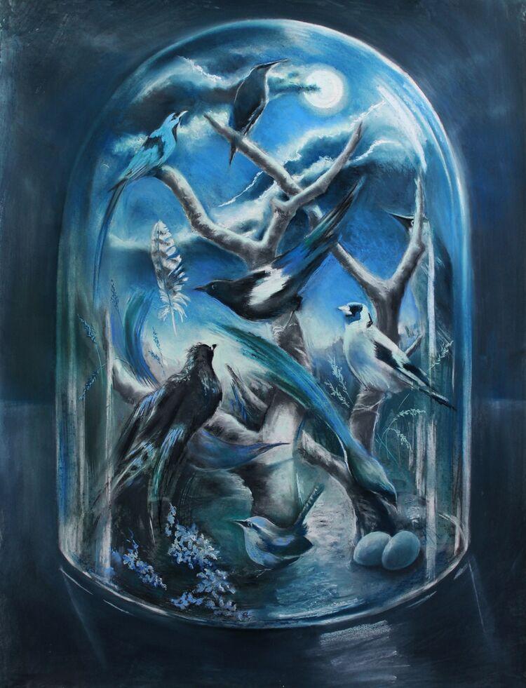 Glass Dome 4 (Nocturne)