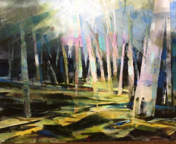 Birch Forest Light