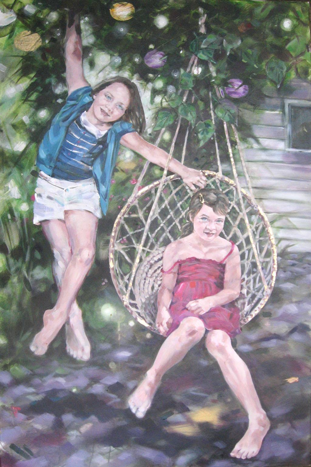 Isobel and Eva