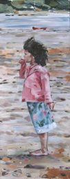 Stephanie on the beach