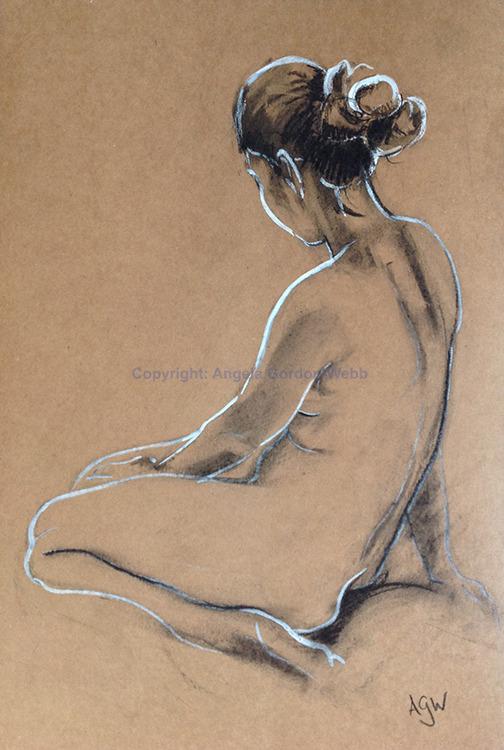 Seated nude 1