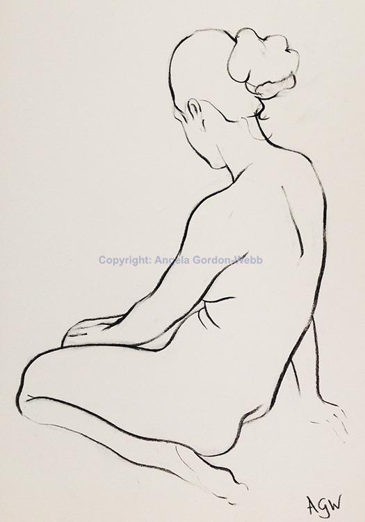Seated nude 2