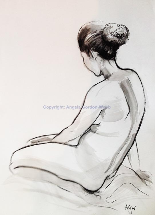 Seated nude 3