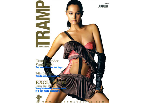 Tramp Magazine Cover