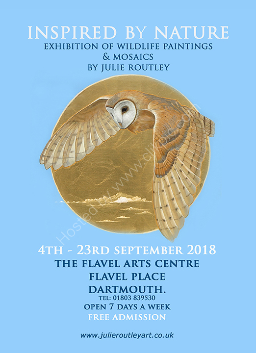Exhibition -Dartmouth - 4th- 23rd September 2018