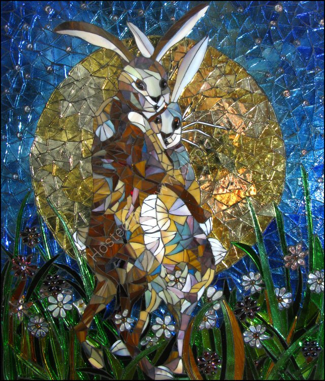 'Hares in The Moonlight'