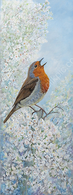 'Morning Song' Original Painting By Julie Routley