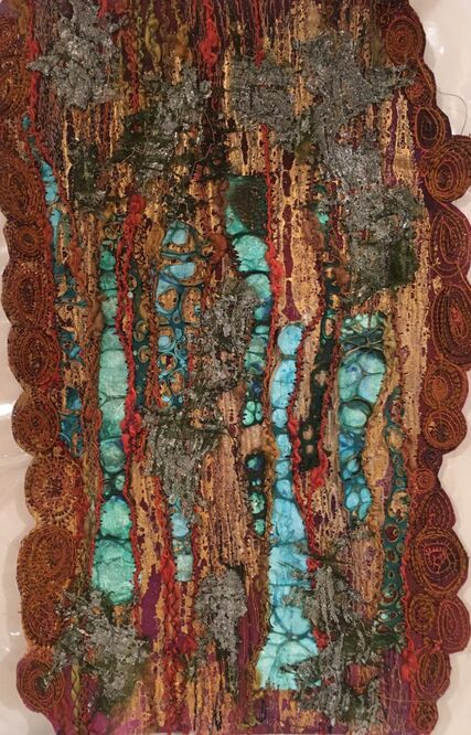 Anne's Woodland texture piece!!