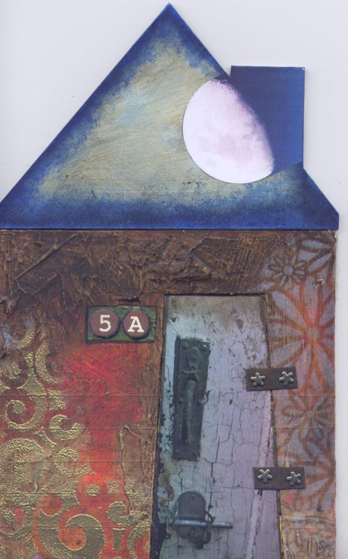 House book, front cover