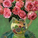Roses in Vintage Jug