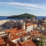 Dubrovnik, Old City from the Walls