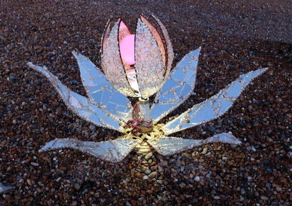 Electric Lotus Flower