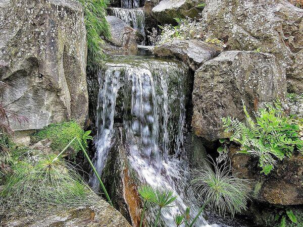 Mike Hubbard - Wisley Waterfall