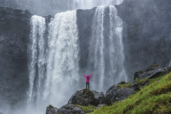 Rod Armstrong - Fossa Falls, Faroe Islands