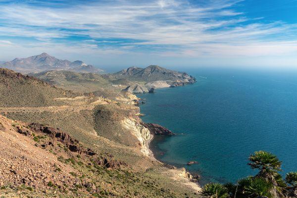 View towards San Jose, Cabo de Gata
