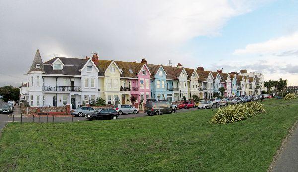 Worthing Houses Panorama