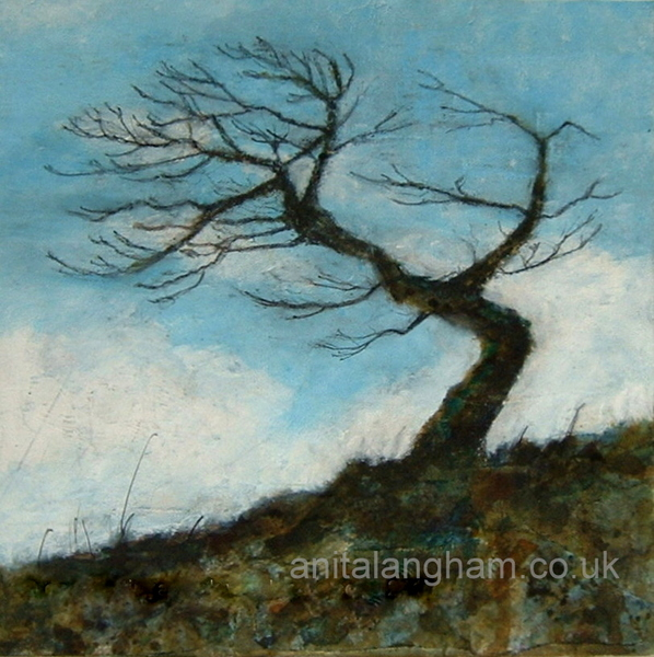 Minster Tree. Boscastle Painting print Cornwall Minster Church