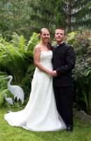 Brudeparet i grønt, Svanhild og Tom Freddy