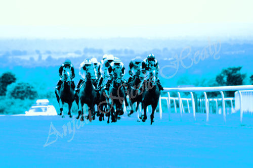 Galloping from the 8th - in blue