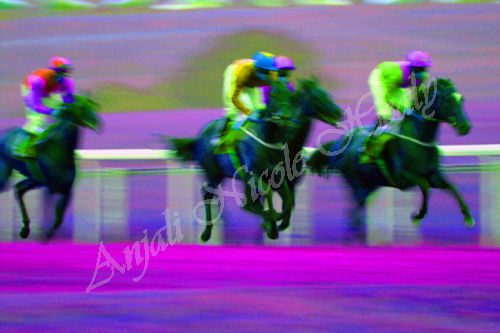 RACING ON AIR AT EPSOM
