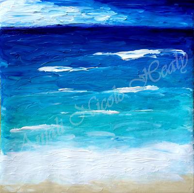SEA OF BLUES - INSPIRATION
