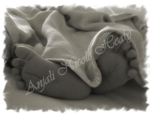 Little tiny brand new Baby Feet