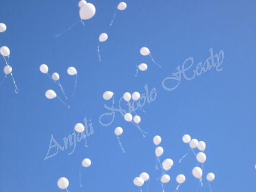 Balloons Floating Away