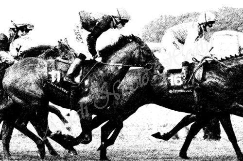 Full Racing Gallop Sketch