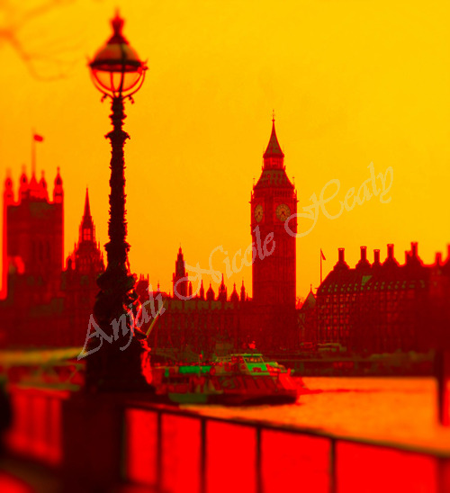 London - Sunset hues