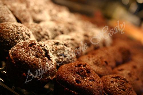 Mini Christmas Chocolate Brownies