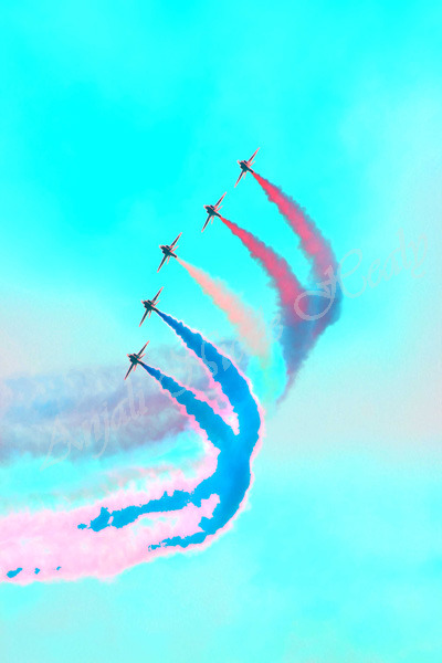 Red Arrows Turquoise