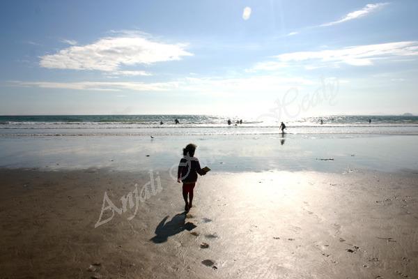 Poetry & Footprints in the Sand