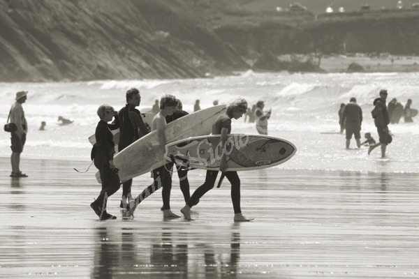 Off to the Waves