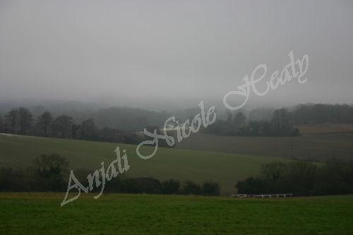 Winter Fog over Headley