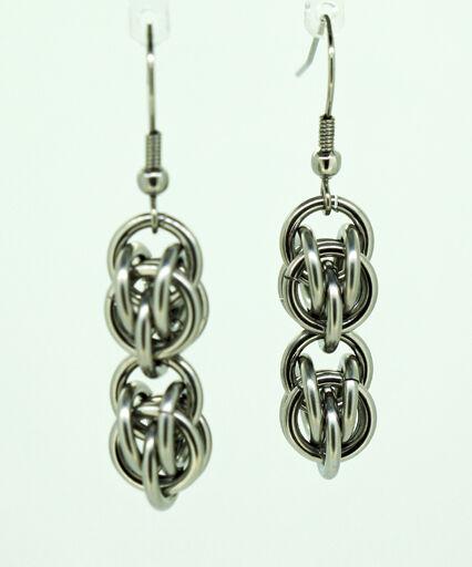 Double Sweet Pea Earrings