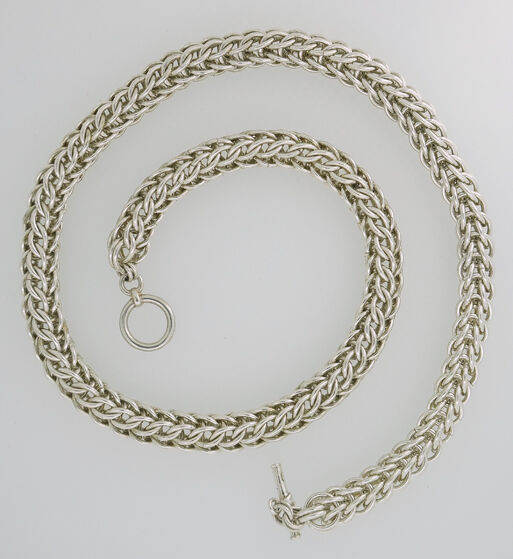 Full Persian Sterling Silver Necklace