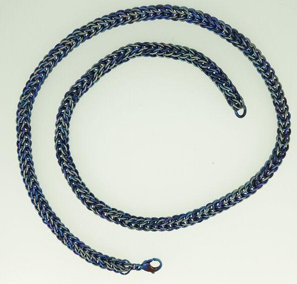 Full Persian Titanium Necklace