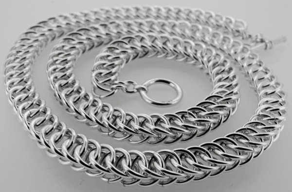 Sterling Silver mid length necklace