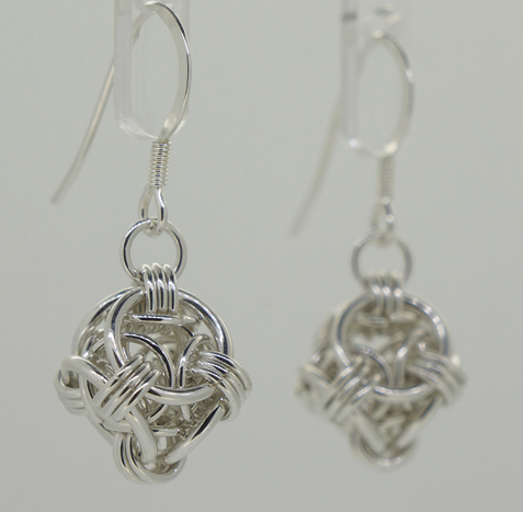 Helm Orb earrings