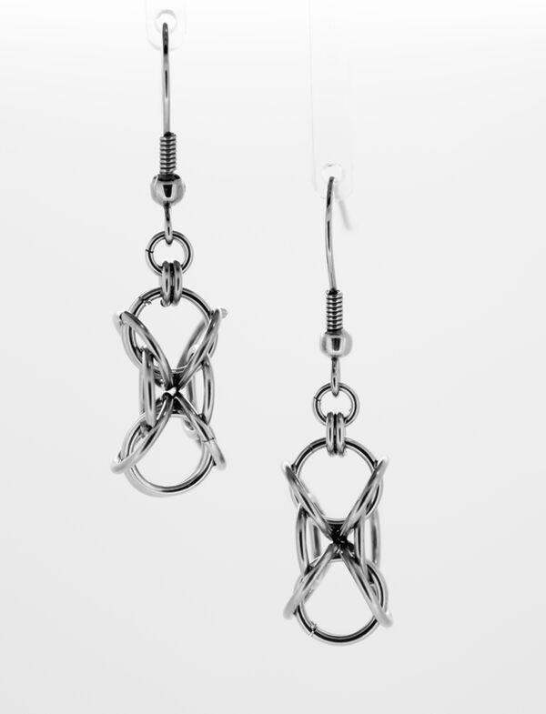 Hourglass Earrings