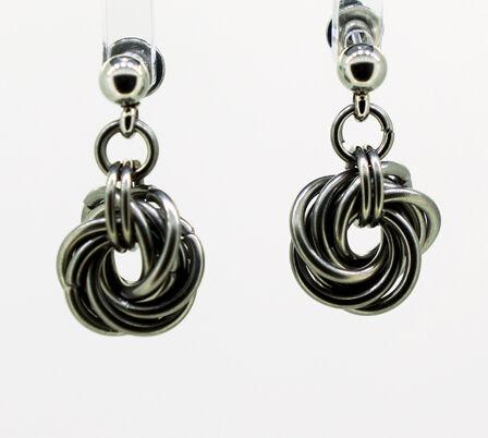 Mobius Knot Earrings
