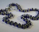 Necklace with Miyuki glass beads