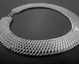 Sterling Silver Dragonscale Collar