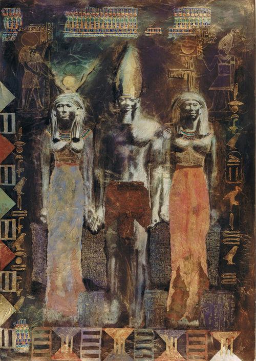 King Mykerinus  Harenome  Hathor
