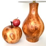 Yew Apple with fumed Oak details