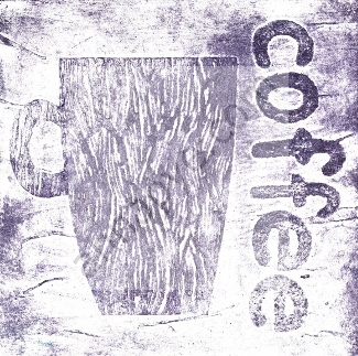 Coffee collagraph